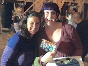Heilicher Art Teacher Aimee Orkin Visits Heilicher Alumna Deanna Weiner on the Set of Hamilton