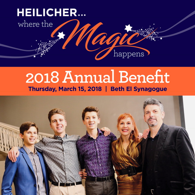 2018 Heilicher Annual Benefit with photo of honorees